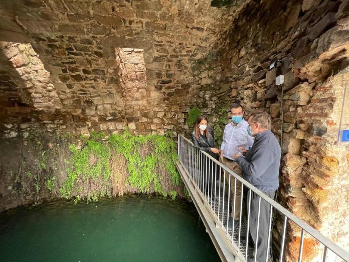 Cáceres recupera la Cisterna de San Roque y la Fuente del Concejo