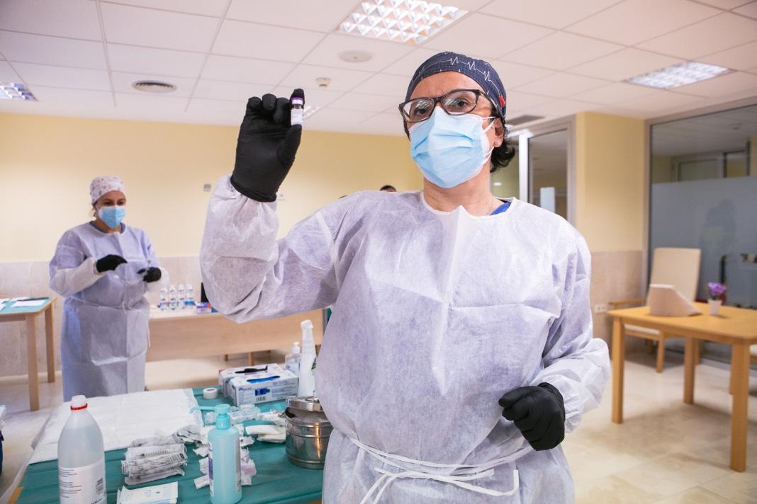 Extremadura es la segunda región con más población vacunada con al menos una dosis