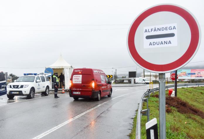 Controles siguen en la frontera entre España y Portugal hasta el 17 de abril