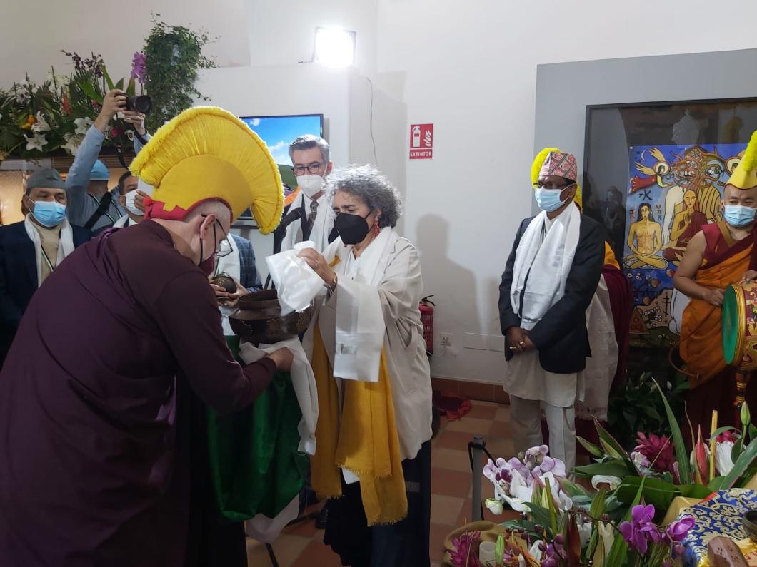 Cáceres y Lumbini, ciudad donde nació Buda, ya son hermanas