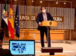 Extremadura continuará cerrada perimetralmente hasta el 23 de abril