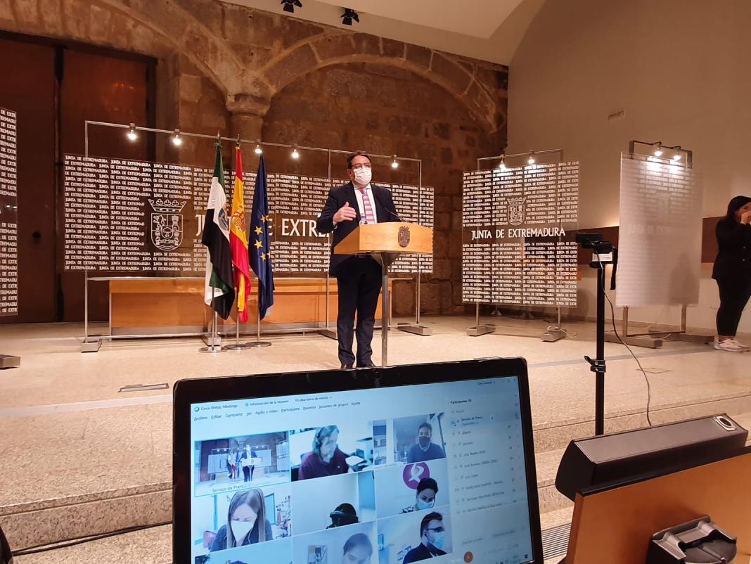 Extremadura permanecerá cerrada hasta el fin del Estado de Alarma