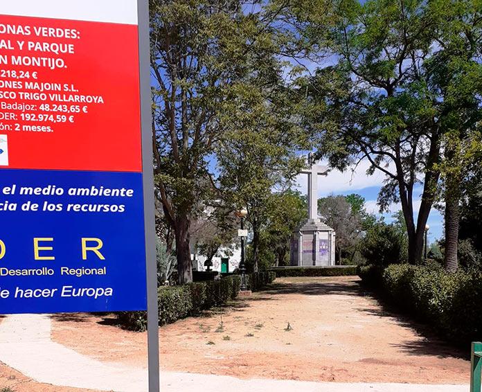 Armhex pide la retirada del espacio público de la Cruz de los Caídos de Montijo