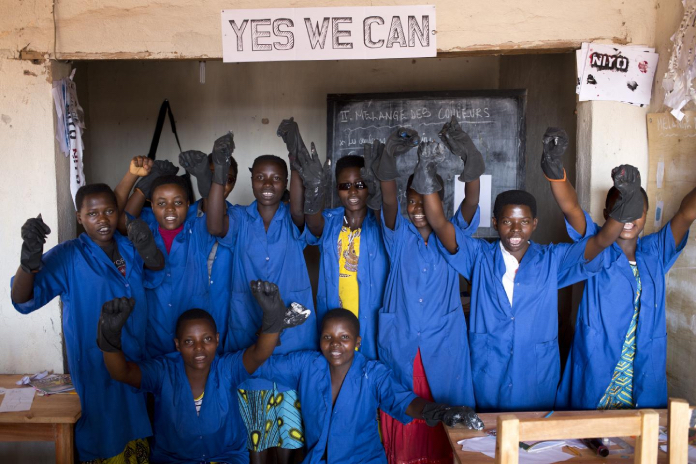 UNICEF mejorará la educación y protección de 1.500 niñas y adolescentes en Burundi