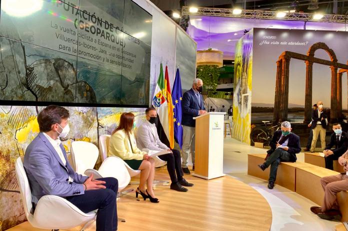 El Geoparque Villuercas-Ibores-Jara se posiciona en Fitur como turismo sostenible