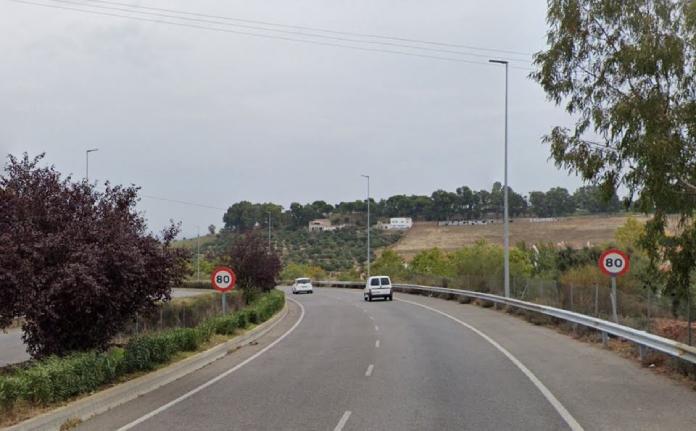 La velocidad máxima por La Ronda Norte de Cáceres será de a 50 kilómetros