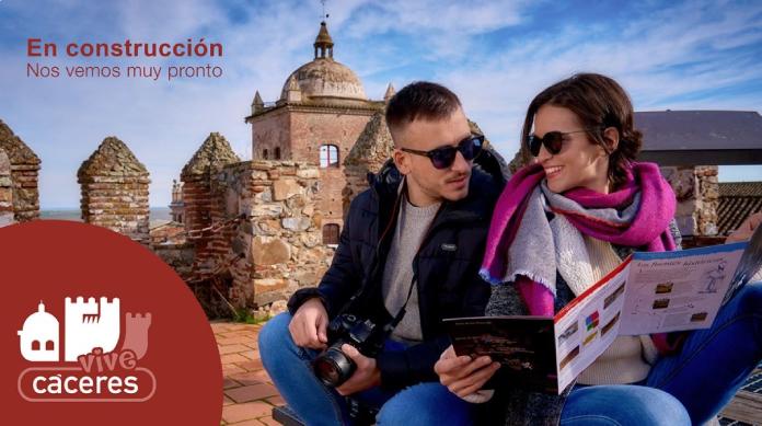 Cáceres presenta la plataforma digital ViveCáceres en Fitur 2021