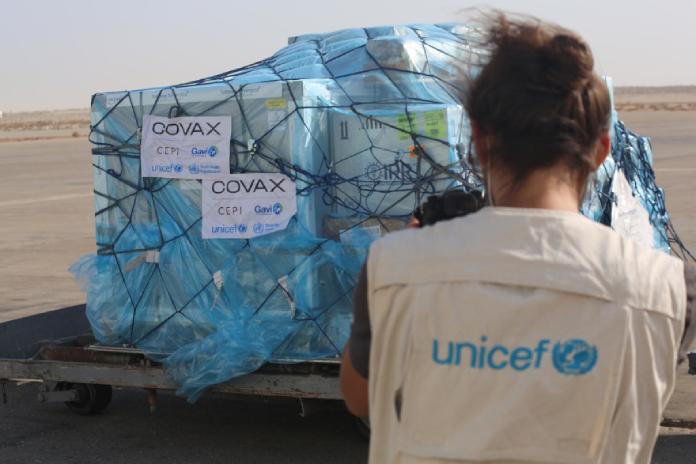 UNICEF impulsa una Proposición No de Ley para que el Gobierno done el excedente de vacunas contra la COVID-19
