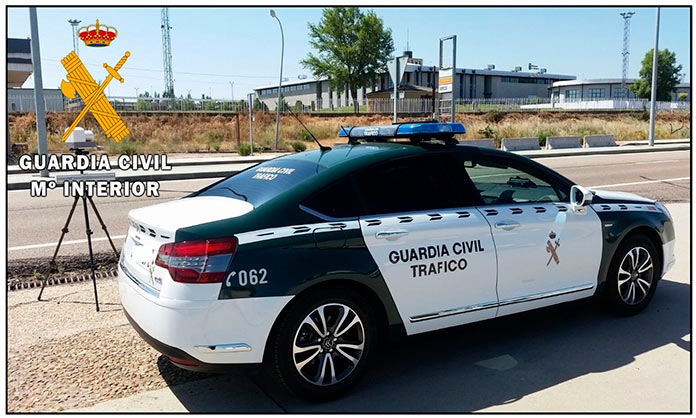 La DGT pone en marcha una campaña de control de velocidad en Extremadura en mayo