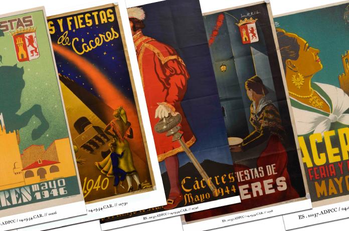 La Sala Pintores 10 expone carteles antiguos de la Feria de Mayo