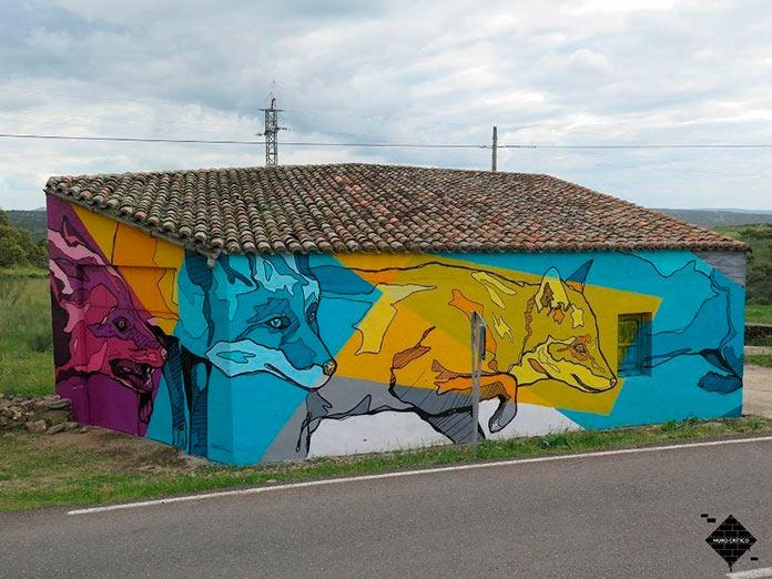 El arte urbano de Muro Crítico llega a Torrejoncillo y Valdencín