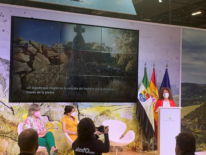 Redex ensalaza la magia de las Piedras Sagradas de Extremadura en Fitur