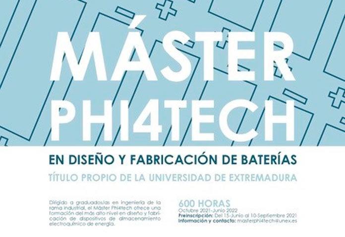 Máster Phi4tech y UEx