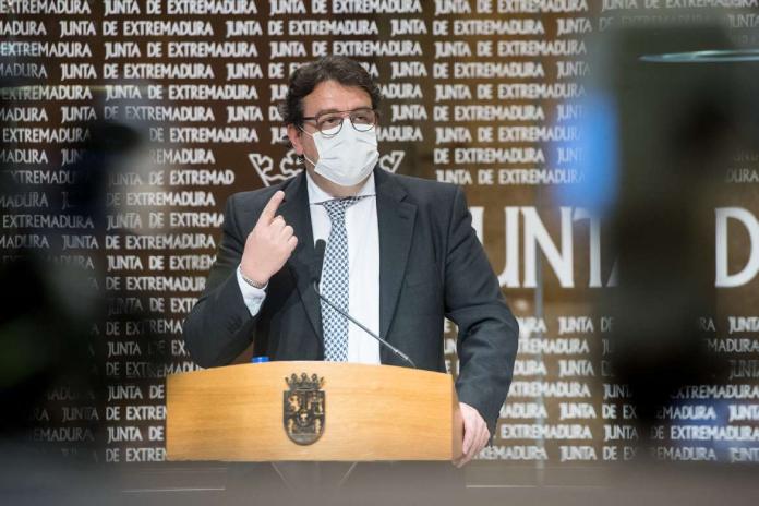 La presencia de la variante delta en Extremadura es del 7,14%