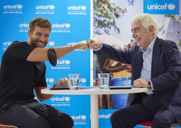 Pablo Alborán, nombrado nuevo embajador de UNICEF España