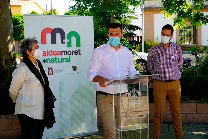 Comienzan las actividades de Aldea Moret + natural