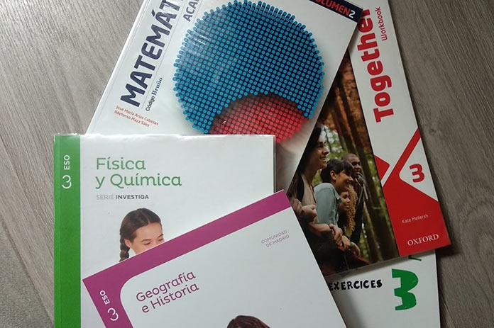 Las ayudas para libros de texto y material escolar de los concertados contarán con 949.000 euros