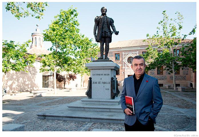Lorenzo Silva presenta Castellano en la Feria del Libro de Badajoz