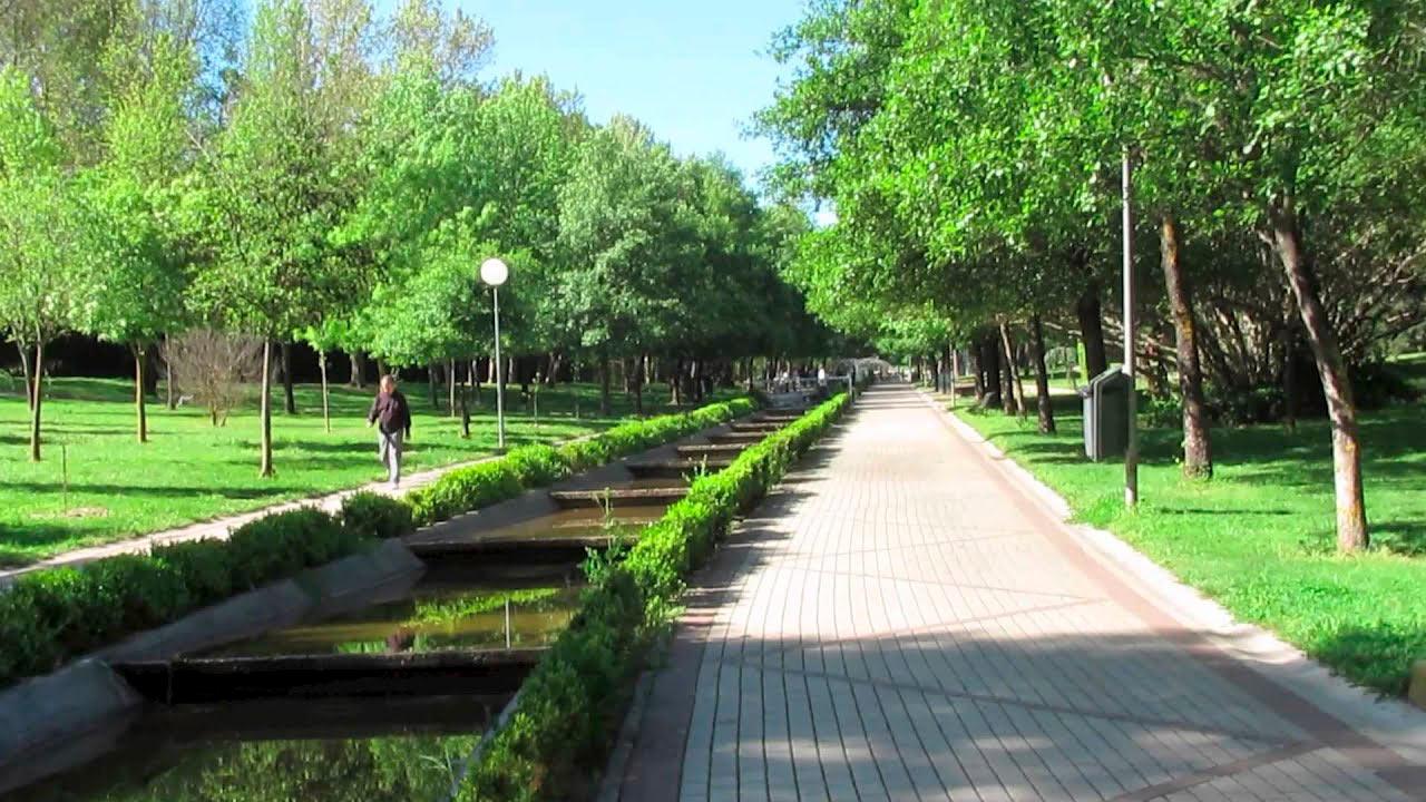 Cáceres cierra los parques por las fuertes rachas de vientos
