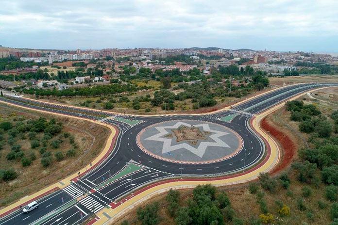 La Ronda Sureste de Cáceres empieza a funcionar el lunes las 14 horas