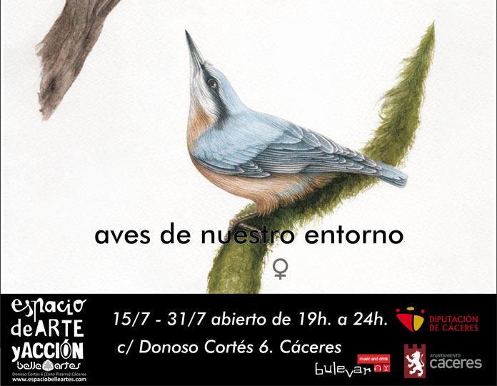 Exposición Aves Cáceres