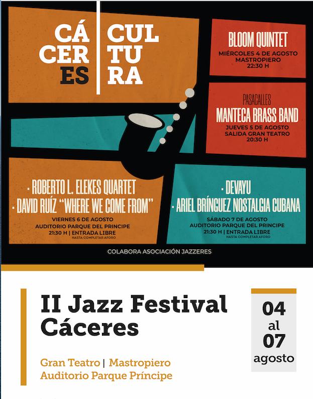 II Jazz festival Caceres