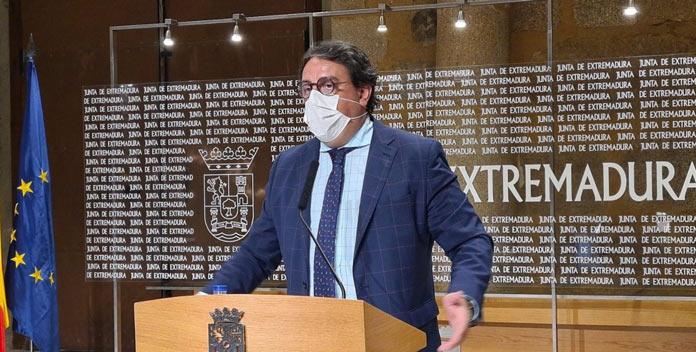Consejero de Sanidad José María Vergeles