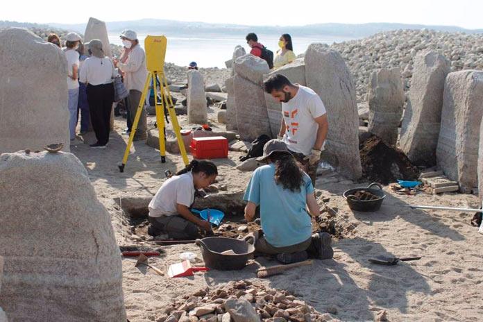 entorno del dolmen de Guadalperal