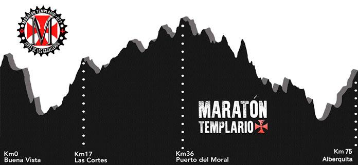 Maratón Templario deporte Extremadura