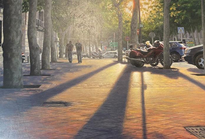 Sombras al Atardecer