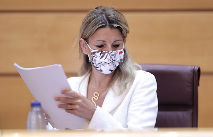 Yolanda Díaz y Vara firmarán un protocolo de colaboración sobre el Plan de Empleo de Extremadura