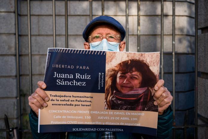 Una relatora de la ONU pide a Israel la liberación inmediata de Juana Ruiz