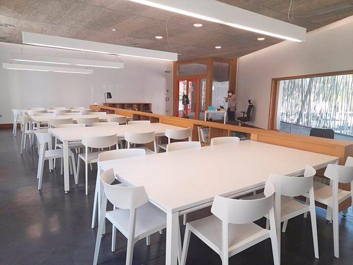 El Centro Cívico Raimundo Medina reabre como sala de estudios
