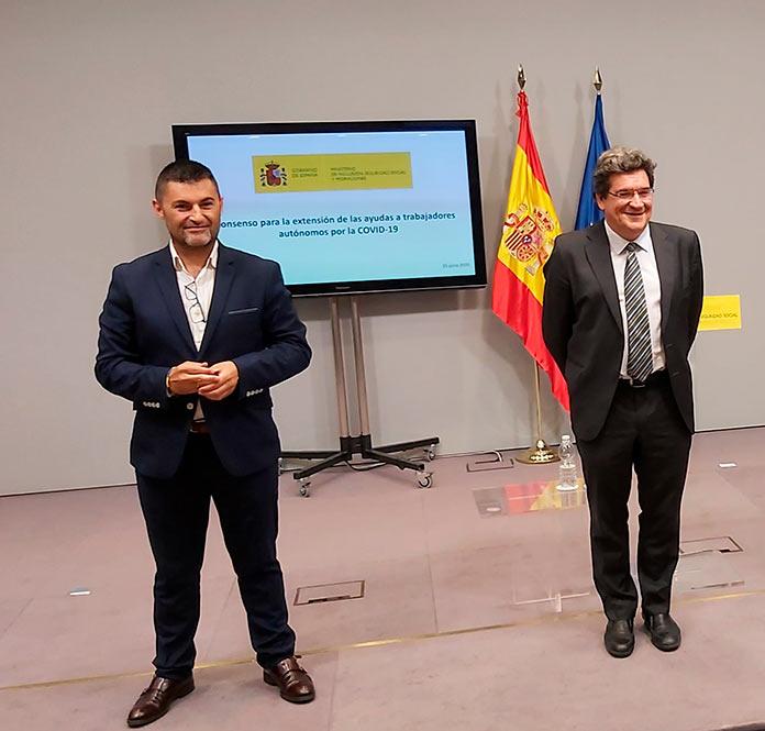 UPTA Extremadura exige a Escribá la puesta en marcha el nuevo sistema de cotizaciones por ingresos reales