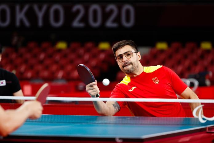 Francisco López Sayago jugará para octavos de tenis de mesa en los Juegos Paralímpicos de Tokio