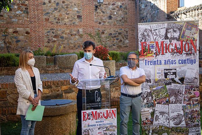 Serradilla homenajea a la revista El Migajón