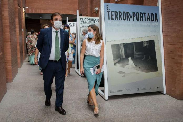 Mérida acoge la muestra El terror a portada. 60 años del terrorismo en España a través de la prensa