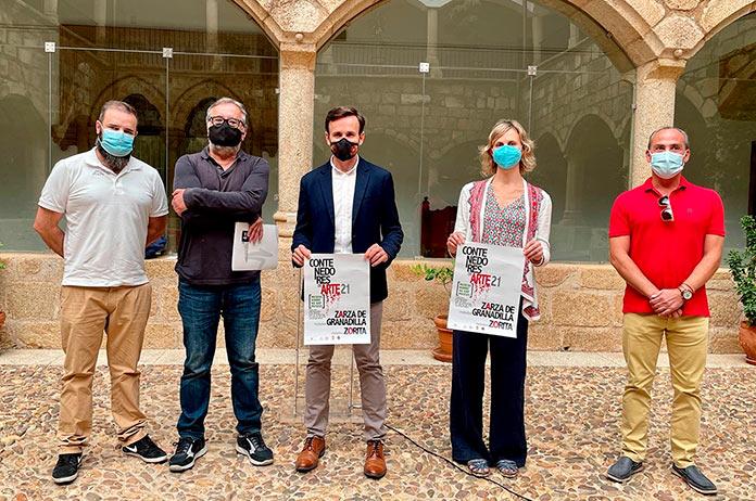 Contenedores de Arte recupera los antiguos mataderos de Zorita y Zarza de Granadilla