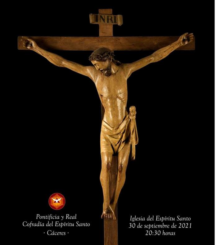 El Cristo del Humilladero volverá a la parroquia del Espíritu Santo de Cáceres el 30 de septiembre