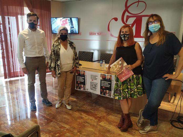Más de 50 espectáculos protagonizan el otoño en el Gran Teatro de Cáceres