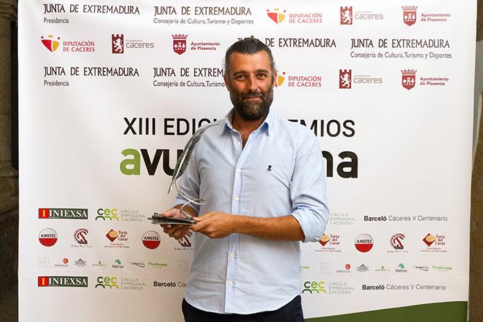 La precariedad es el principal problema del periodismo. Nacho Carretero. Premio Avuelapluma