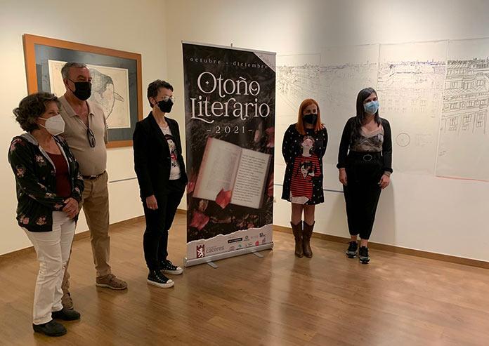 Todo listo para celebrar la II Edición del Otoño Literario de Cáceres