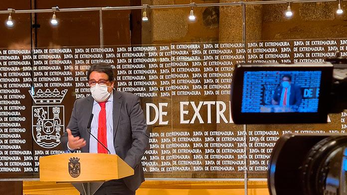 La Junta propone bajar al nivel 2 el Área de Salud de Cáceres
