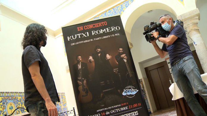 Kutxi Romero presenta en Mérida su gira acústica en solitario