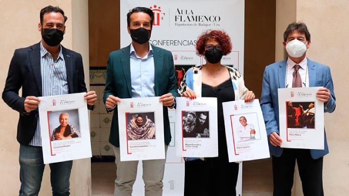 Miguel Poveda y Javier Conde, premios del Aula de Flamenco de Diputación de Badajoz y UEx