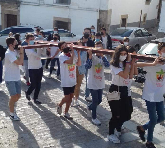 La Cruz de la Jornada Mundial de la Juventud llega a Cáceres