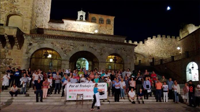 La Diócesis Coria-Cáceres convoca una concentración por el Día Mundial del Trabajo Decente